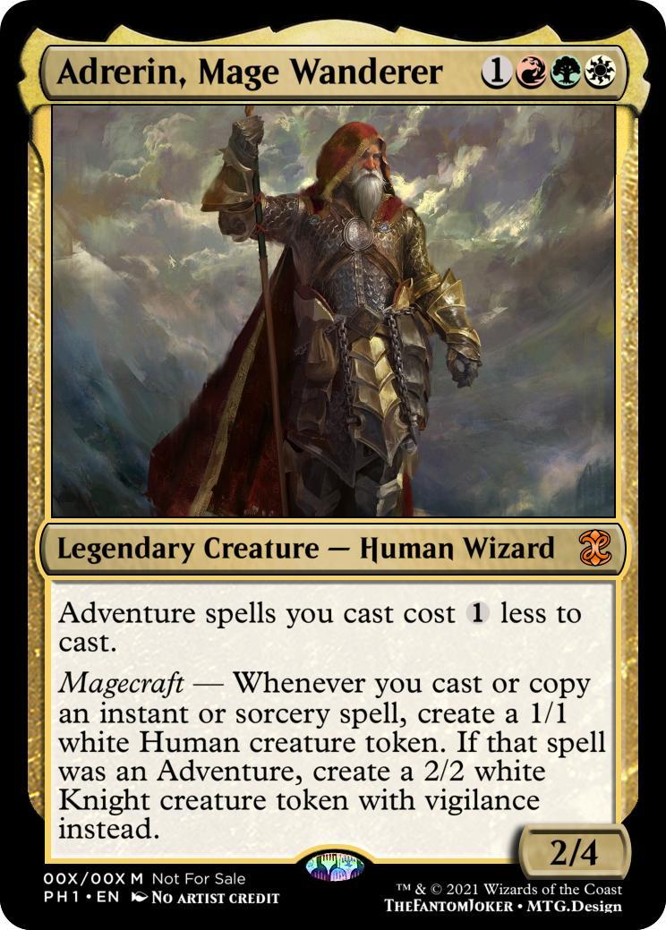 Adredrin Mage Wanderer